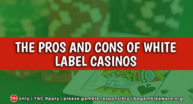 The Pros And Cons Of White Label Casinos